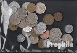 Tschechoslowakei 100 Gramm Münzkiloware - Coins & Banknotes