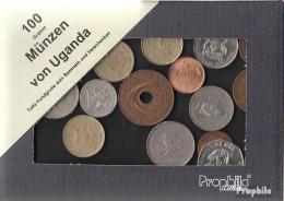 Uganda Münzen-100 Gramm Münzkiloware - Coins & Banknotes