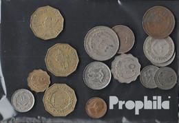 Libyen Münzen-100 Gramm Münzkiloware - Münzen & Banknoten