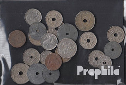 Belgien Münzen-100 Gramm Münzkiloware - Münzen & Banknoten
