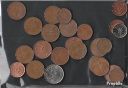 Oman 100 Gramm Münzkiloware - Kiloware - Münzen