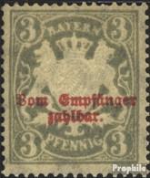 Bavière P10y Neuf Avec Gomme Originale 1903 Etat Emblem - Beieren