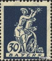 Bavière 182III Triangle Dans Fels Neuf Avec Gomme Originale 1920 Adieu La Série - Beieren