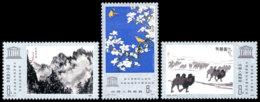 China PR, 1980, UNESCO, Drawings, United Nations, MNH, Michel 1640-1642 - 1949 - ... République Populaire