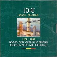 10 Euro 2002  ZILVER * NOORD-ZUID VERBINDING * BLISTER * Nr 9859 - Belgique