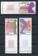 Chad, 1977, International Year Against Rheumatism, WHO, United Nations, MNH Tab Set, Michel 807-809 - Chad (1960-...)
