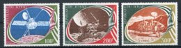 Chad, 1977, Space, Mariner, MNH, Michel 800-802 - Chad (1960-...)