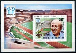Chad, 1978, Soccer World Cup Argentina, Football, MNH, Michel Block 70A - Tsjaad (1960-...)