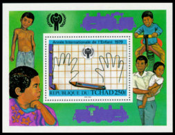 Chad, 1979, International Year Of The Child, IYC, United Nations, MNH, Michel Block 76 - Chad (1960-...)