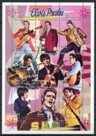 Chad, 1999, Elvis Presley, Singer, Actor, Music, Musician, MNH Sheet, Michel 1960-1968A - Chad (1960-...)
