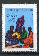 Chad, 1985, Christmas, MNH, Michel 1136 - Tschad (1960-...)