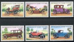 Chad, 2000, Cars, Automobiles, MNH, Michel 2008-2013 - Tschad (1960-...)
