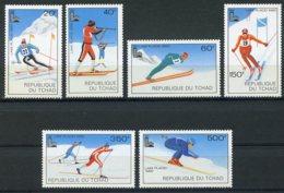 Chad, 1979, Olympic Winter Games Lake Placid, MNH, Michel 877-882 - Tschad (1960-...)