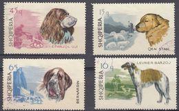 ALBANIA - 1966 -  Lotto Di 4 Valori Usati: Yvert 932, 933, 935 E 937. - Albania