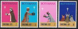 Botswana, Scott # 80-3 MNH Christmas, 1971 - Botswana (1966-...)