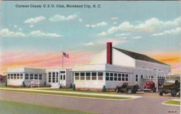 North Carolina Moorehead City Carteret County U S O Club 1947 Cu