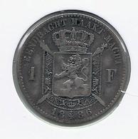 LEOPOLD 2 * 1 Frank 1886 Vlaams - Met Punt * Fraai * Nr 9820 - 07. 1 Franc