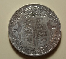 Great Britain 1/2 Crown 1927 Silver - 1902-1971 : Post-Victorian Coins