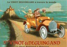 Collection Les Ancetres De L'automobile La Vinot Deguingand Societe Vinot Et Deguingand   CPM Ou CPSM - Voitures De Tourisme
