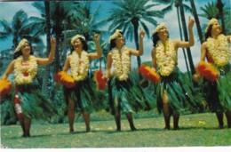 Hawaii Hawaiian Hula Dancers 1954 - Honolulu