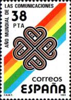 Espagne Poste N** Yv:2321 Mi:2591 Ed:2709 Ano Mundial De Las Communicaciones - 1931-Aujourd'hui: II. République - ....Juan Carlos I