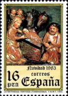 Espagne Poste N** Yv:2349/2350 Noël Art Gothique Espagnol - 1931-Aujourd'hui: II. République - ....Juan Carlos I