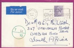 Great Britain - 1975 - Machin Machins On Cover 5p A Happy Christmas The Post Office Edinburgh - Série 'Machin'