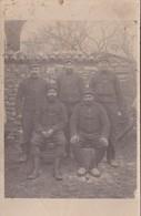 Groupe De Soldats Du 23ème Régiment D'Infanterie Territoriale - Basé à Caen (14) - Carte Photo - 1 Identifié G. Valmont - Reggimenti