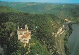 46----MERCUES--le Château Est Sité Sur La Rive Droite Du Lot.résidence Des Evêques De Cahors--voir 2 Scans - France