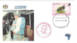 13251 - VISITE JEAN PAUL II - Lesotho (1966-...)