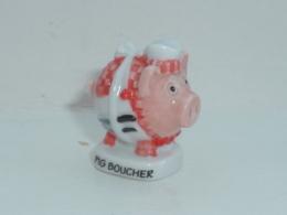 FEVE LES COCHONS DEGUISES, PIG BOUCHER - Animals