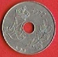 DENMARK # 25 ØRE FRA 1977 - Dänemark