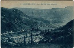 6GO 126 CPA - SAINT RAMBERT EN BUGEY - LES CITES NEUVES ET SERRIERES - France