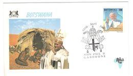 13269 - Visite JEAN PAUL II - Botswana (1966-...)