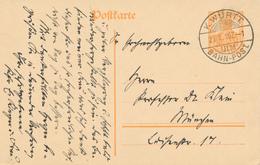 ULM / WÜRTTEMBERG - 1916 , K. WÜRTT. BAHNPOST - Nach München - Wurtemberg