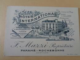 Hôtel International F. Mazzi Propriétaire - Paramé Rochebonne - Hotels & Restaurants