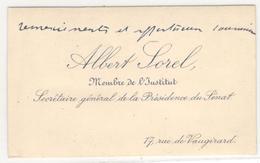 13274 - ALBERT SOREL - Autographs