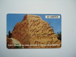 MALI  USED CARDS    MONUMENTS - Mali