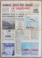 Journal Dauphiné Libéré Du Vendredi 9 Février X° Jeux Olympiques D'hiver De Grenoble 1968 - Jeux Olympiques