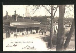 CPA Pecq, La Gare, Partie Am La Gare - Le Pecq
