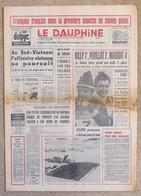 Journal Dauphiné Libéré Lundi 12 Février X° Jeux Olympiques D'hiver De Grenoble 1968 Killy Périllat - Jeux Olympiques