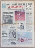 Journal Dauphiné Libéré Mercredi 14 Février X° Jeux Olympiques D'hiver De Grenoble 1968 Goitschel Famose - Jeux Olympiques