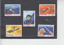 NICARAGUA  1982 - Yvert 1184/88 - Spazio - Nicaragua