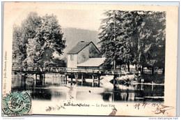10 BAR SUR SEINE - Le Pont Vert - Bar-sur-Aube
