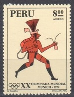 Peru Mnh ** Olympic Games Munich 1972 - Peru
