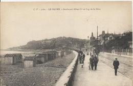 Carte Postale Ancienne Du Havre Le Boulevard Albert 1 Er - Le Havre
