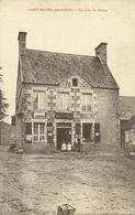 SAINT-MICHEL-des-LOUPS (50)  - Un Coin Du Bourg - France
