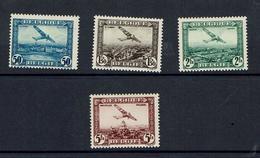 BELGIUM...air Mail...C1-C4...mh - Airmail