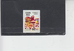 COSTA RICA  1980 - Yvert  A 780 - Alimentazione - Cacao - Costa Rica