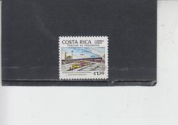 COSTA RICA  1980 - Yvert  A 793 - Aereoporto - Costa Rica